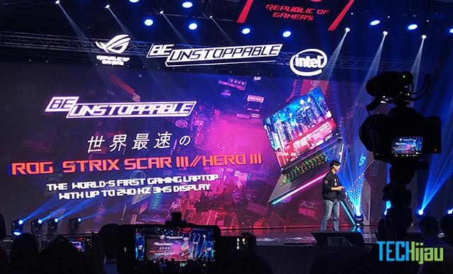 Harga resmi ASUS ROG Strix Scar 3 dan Hero 3