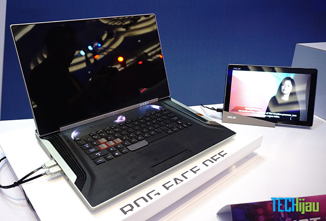 Laptop konsep ASUS ROG Face Off