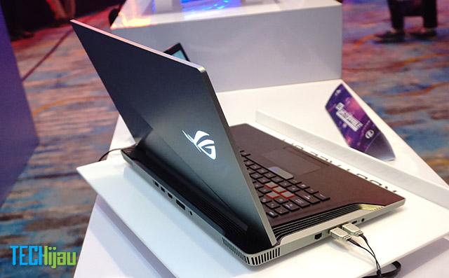 Laptop konsep ROG & BMW Designworks