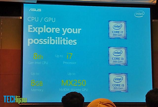 Prosesor ASUS Vivobook Ultra A412