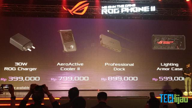 Harga aksesoris resmi ROG Phone 2