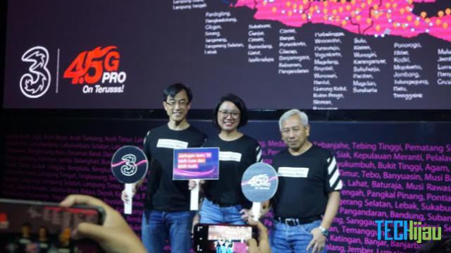 Operator 3 perluas jaringan di Indonesia