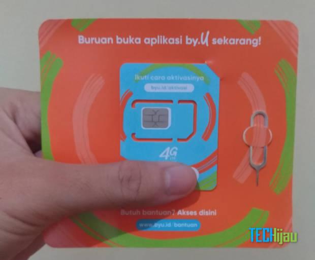Cara membeli dan mengambil kartu perdana By U