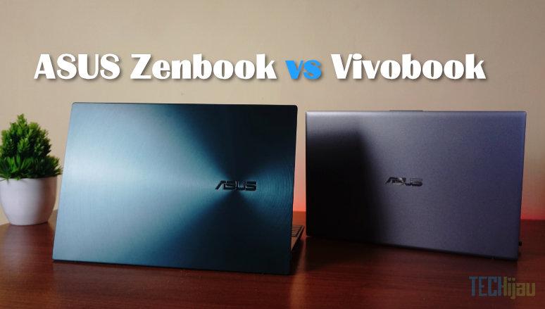 Bedanya ASUS Zenbook dan Vivobook