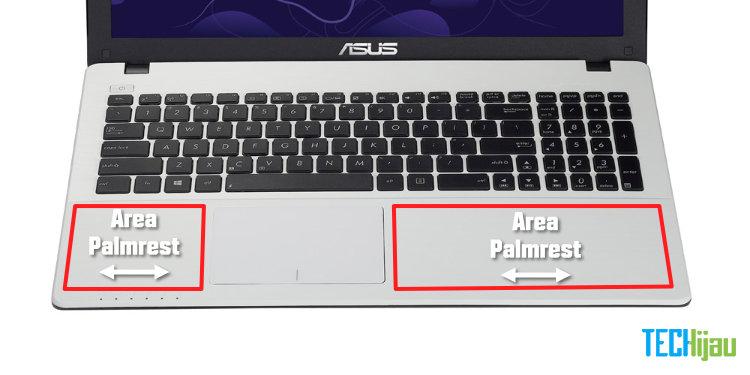 Apa itu palmrest laptop