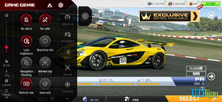 Fitur Game Genie ROG Phone 3