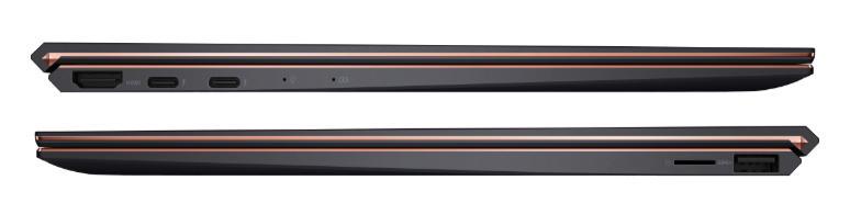 Kelengkapan port ASUS Zenbook S UX393