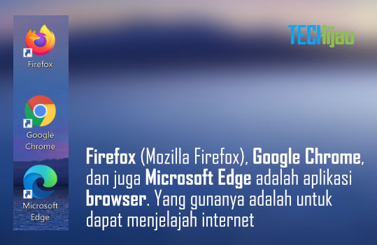 Aplikasi untuk internetan di laptop