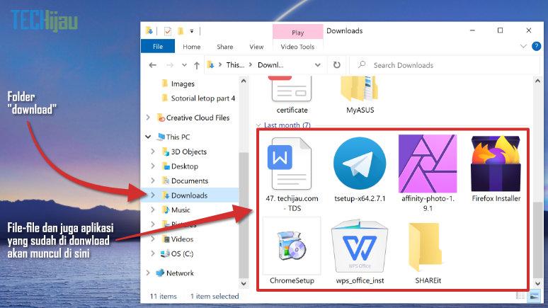 Cara pasang aplikasi di laptop
