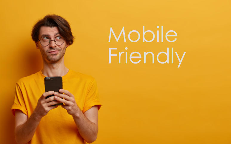 Konten mobile friendly
