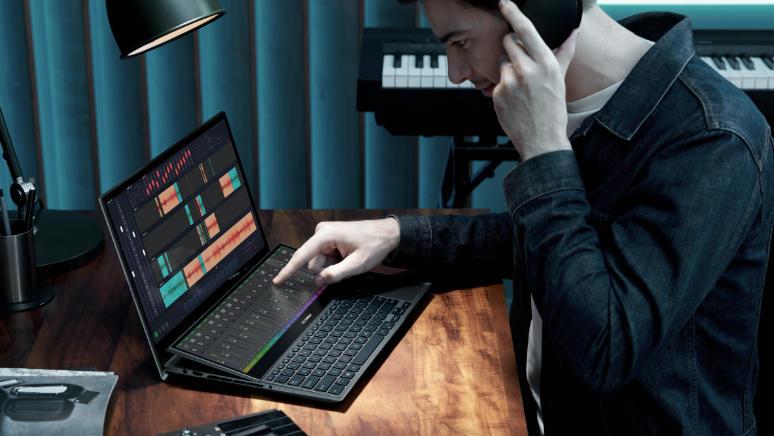 Fitur ASUS Zenbook Duo 15 OLED UX582