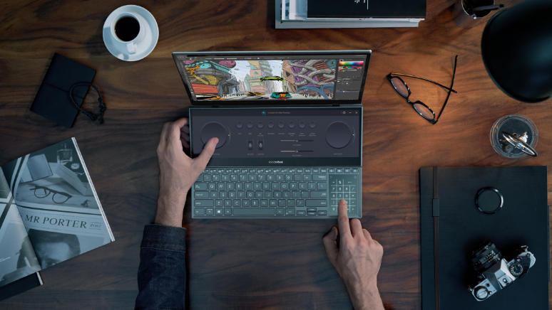 Keunggulan ASUS Zenbook Duo 15 OLED UX582