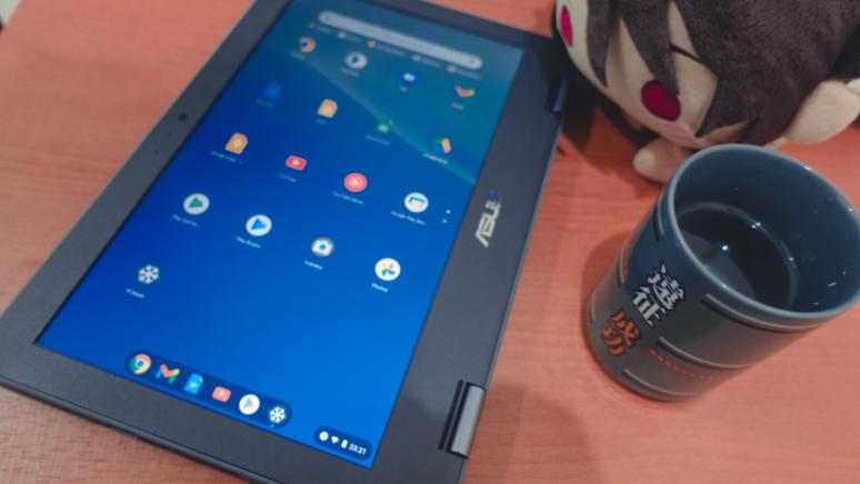 Laptop Untuk Pelajar ASUS Chromebook C214